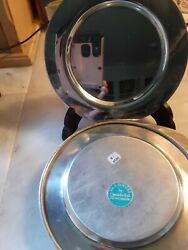 Wm. A. Rogers Bread And Butter Plates 6 Vintage Oneida Ltd Silversmiths