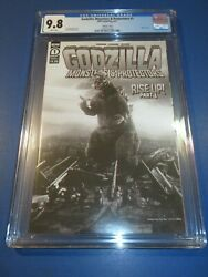 Godzilla Monsters And Protectors 1 Movie Photo Variant Cgc 9.8 Nm/m Gem Wow