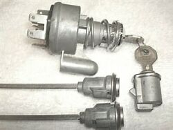 Nos Door And Glove Locks And Ignition Switch And Keys Willys Jeep Wagoneer J Commando