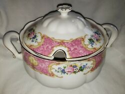 Royal Albert Lady Carlyle, Soup Tureen, Consume With Lid, Never Used, Rare
