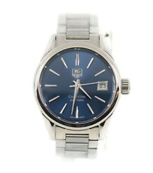 Tag Heuer Carrera Cal 9 Stainless Steel Watch War2419
