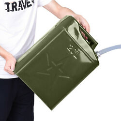 10xjerry Can 5 Gallon 20l Gas F Uel Steel Tank Emergency Backup Army Military Us