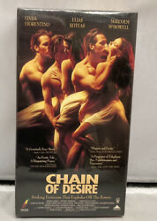 Chain Of Desire Unrated Vhs Tape 1993 Fiorentino Koteas Mcdowell Sealed Prism