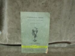 Vintage 1952 Corsicana Texas Southwestern Bell Telephone Directory Book 64 Pages