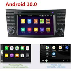 For Mercedes W211 E W219 Cls Android 10 Dvd Radio Stereo Player Gps 32gb Carplay