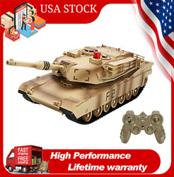 Jjrc Q90 Battle Tank 1/24 Remote Control Rc Military Tank Toy With Sounds U4h5