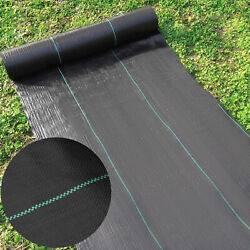 Universal Garden Weed Barrier 6.5x330and039 Weed Control Block Mat Landscape Fabric