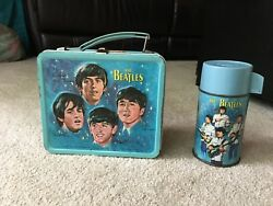 The Beatles Lunch Box With Thermos