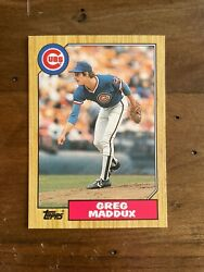 1987 Topps Traded Greg Maddux Rookie card # 70T 15 available PSA 10.. 🤔