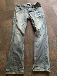 Levi's 527 Bootcut Medium Wash Blue Jeans Mens Size 32x32 Free Shipping Clean