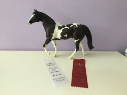 LSQ Chocolate Chip Kisses WITH RIBBONS Breyer Traditional Model Horse #1739