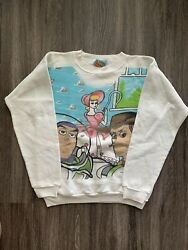 Rare All Over Vintage Kids 90andrsquos Disney Buzz Light Year Woodytoy Story Sweatshirt