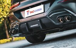 Takd Carbon Fiber Rear Diffuser For Bmw 8 Series G14 G15 2 Door And Convertible