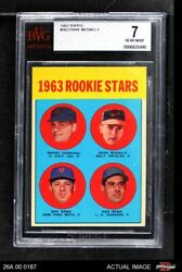 1963 Topps 562 Dave Mcnally Colt 45s / Orioles / Mets / Dodgers Beckett 7 - Nm