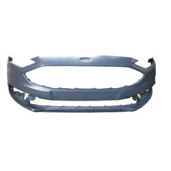 Fits 2017-2018 Ford Fusion Front Bumper Cover Bcf-1846 Capa