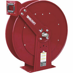 Reelcraft 1/2in. X 100ft Cap. Heavy Duty Spring Retractable Air/water Hose Reel