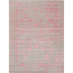 Pasargad Home Transitional Collection Silk And Wool Area Rug Beige 9' X 12'