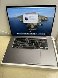 Apple Macbook Pro 16and039and039 512gb Intel Core I7 2.6 Ghz 16 Gb Apple Care