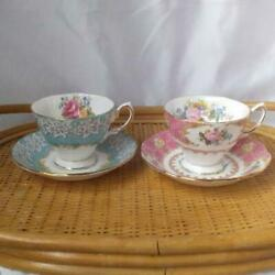 Royal Albert Cup And Saucer Enchantment Lady Carlyle Teacup Set Tableware No Box