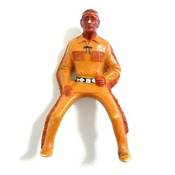 Vintage 1950s - 60s Hartland Tonto From Lone Ranger Plastic Toy Cowboy Figure