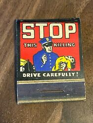 03 Vintage Matchbook Cover Cornell Super Service, The Pep Boys