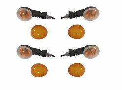 Indicators Complete Set Of 4 Front And Rear For Ktm 530 Exc-r 4t 2008
