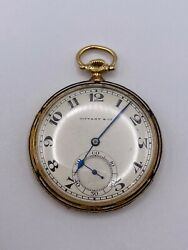 And Co Solid 18k Gold Pocket Watch