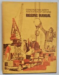 Rigging Manual Dickie 1e Rope Chain Hardware Slings Procedure Safety Canada Hcdj