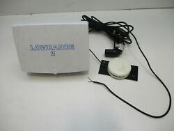 Lowrance Lcx-15 Mt Fish Finder / Gps Chart Plotter And Cables