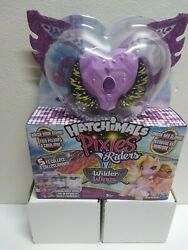 Hatchimals Pixies Riders Wilder Wings Magical Melandponygator Glider Factory Seal