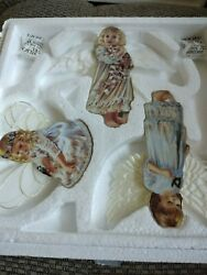Heavens Little Angels Ornaments The Bradford Editions With Certificate 1998 4