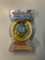 Tamagotchi Connection V1 Green 2004. New/factory Seeled/unopened.