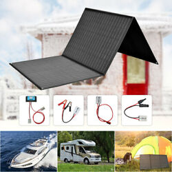 150w Foldable Portable Solar Panel Kit For Cell Phone Power Bank Car Boat Rvs
