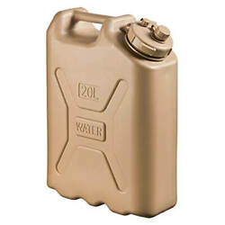Scepter 06181 Military Water Canister - 5 Gal Sand.