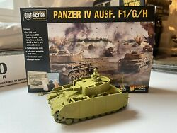 Warlord Games Bolt Action 28mm Wwii German Panzer Iv Ausf F/g/h Tank