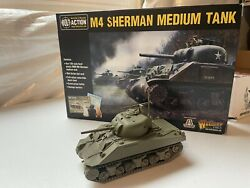 Warlord Games Bolt Action 28mm Wwii Us M4 Sherman Medium Tank
