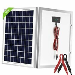 Solar Panel, 12v Solar Panel Kit, Built-in Charge Controller, Suitable For 10w