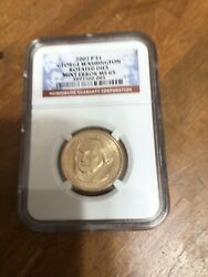 2007 P George Washington Rotated 1 Coin Ms 65 1 Of Only 4