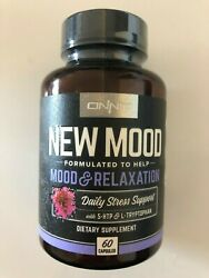 Onnit - New Mood Mood + Relaxation + Sleep 60 Ct    Stress Support Supplement
