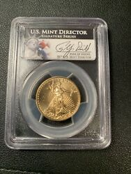 2013 American Eagle 25 Dollar Gold Coin Pcgs Ms 70 Diehl Signature