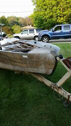 Classic Mahagony Power Boat Make Your Best Offer