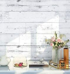 Removable peel and stick wood wallpaper Self adhesive wallpaper 17.7in x 9.8ft