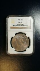 1923 P Peace Silver Dollar Ngc Ms64 Near Gem Uncirculated 1 Coin Priced To Sell