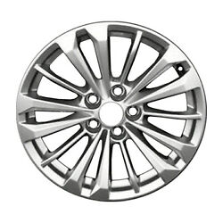 Reconditioned 18 Silver Alloy Wheel Fits 2016-2018 Cadillac Ct6 560-4761