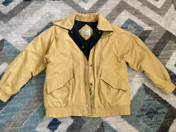 Yellow Be In The Current Seen Vintage 80and039s Nautical Jacket Medium