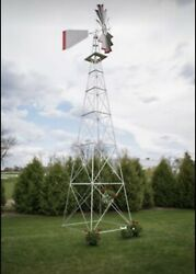 30 Ft Tall Amish Made In The Usa Aluminum Windmill