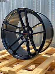 4 Gloss Black Dodge Rims 20x9.5 20X11 Staggered Challenger Charger Scat Redeye