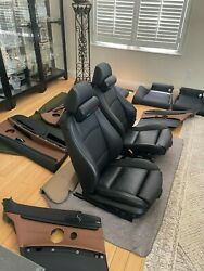 Bmw E92 Interior Seats And Panels Black And Brown