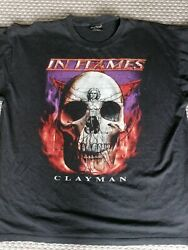 In Flames T-shirt Size Xxl