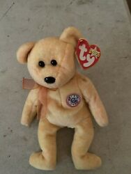 Rare Misprintty Beanie Baby Sunny Tag Errors Never Played With
